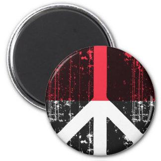 Peace In Monaco Magnet