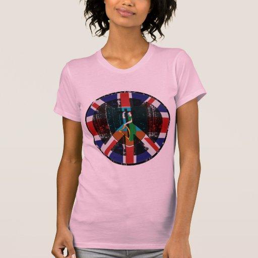 Peace In Montserrat T-shirts