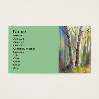 Peace In Nature Business Card