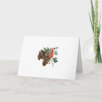Peace in Nature Christmas Greeting Card