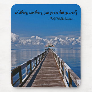 Peace in Nature Mouse Pad