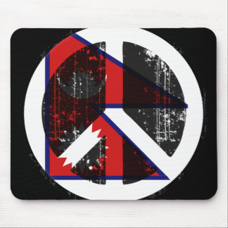 Peace In Nepal Mouse Pads