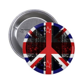 Peace In New Zealand Button