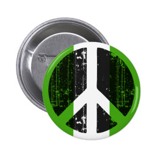 Peace In Nigeria Pinback Button