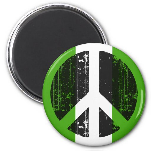 Peace In Nigeria Refrigerator Magnets