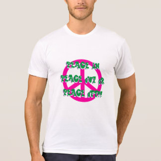 Peace In Out or Off T-Shirt
