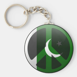 Peace in Pakistan Keychain