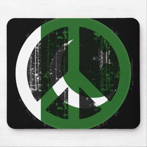 Peace In Pakistan Mouse Pad
