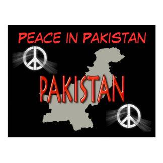 Peace in Pakistan postcard