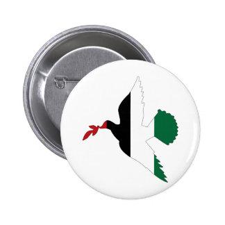 Peace in Palestine 2 Inch Round Button
