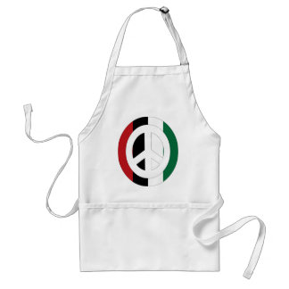 Peace in Palestine Adult Apron