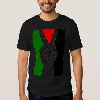 Peace in Palestine (black) Tees