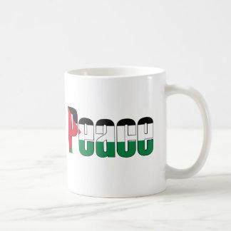 Peace in Palestine Coffee Mug