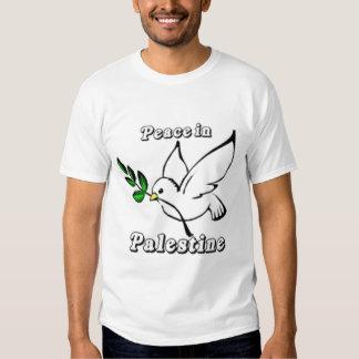 Peace In Palestine Dove T-shirt
