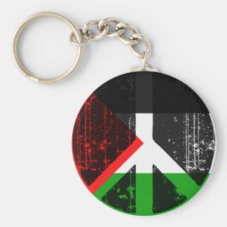 Peace In Palestine Key Chain