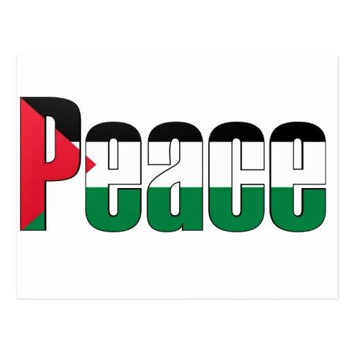 Peace in Palestine Postcard