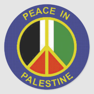Peace in Palestine Sticker