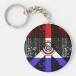 Peace In Paraguay Key Chain