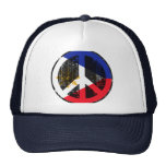 Peace In Philippines Mesh Hats