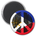 Peace In Philippines Refrigerator Magnets