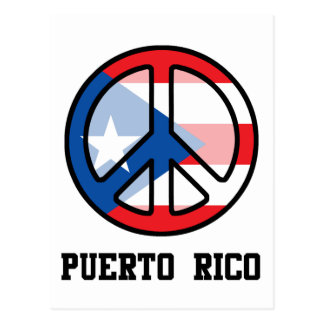 Peace In Puerto Rico Postcard