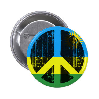Peace In Rwanda Pinback Button