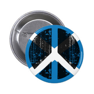 Peace In Scotland Pinback Button