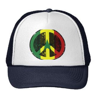 Peace In Senegal Trucker Hats