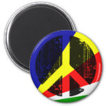 Peace In Seychelles Refrigerator Magnets