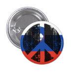 Peace In Slovenia Pinback Button