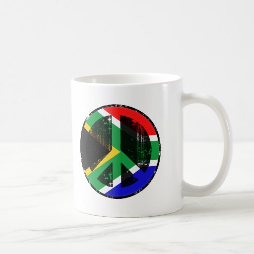 Peace In South Africa Classic White Coffee Mug
