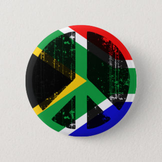 Peace In South Africa Pinback Button