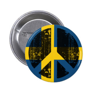 Peace In Sweden Pin