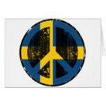 Peace In Sweden Greeting Cards