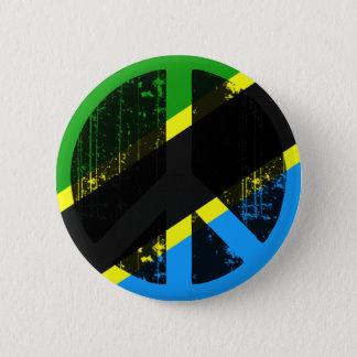 Peace In Tanzania Pinback Button
