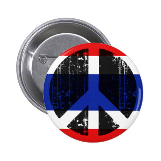 Peace In Thailand Buttons