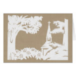 Peace in the Hollow Stationery Note Card