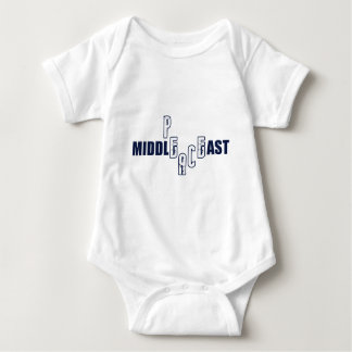 Peace in the Middle East Baby Bodysuit
