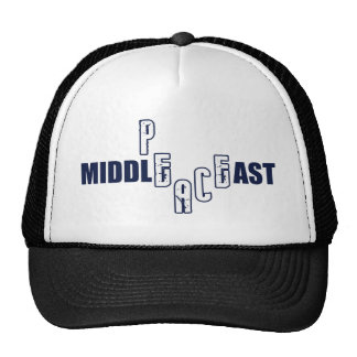 Peace in the Middle East Trucker Hat