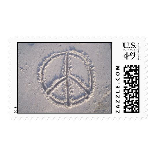 Peace in the Sand Postage
