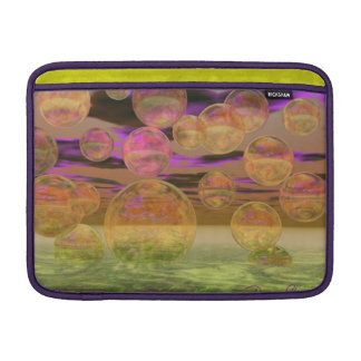 Peace in the Storm – Violet and Amber Tranquility MacBook Air Sleeve