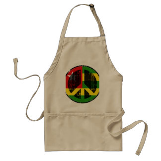 Peace In Togo Adult Apron