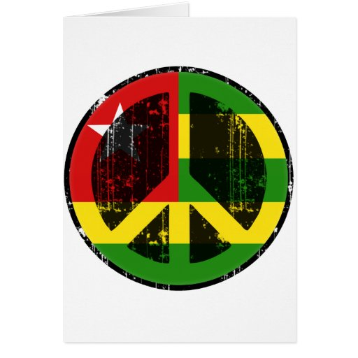 Peace In Togo Greeting Card