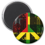 Peace In Togo Magnet