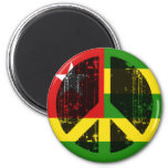 Peace In Togo Magnets