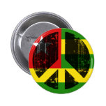Peace In Togo Pinback Button
