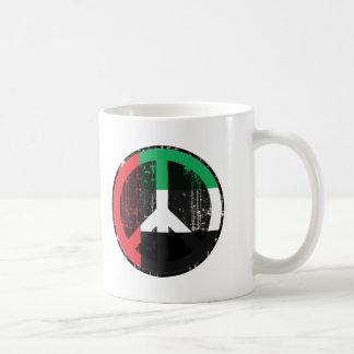 Peace In Uae Coffee Mugs
