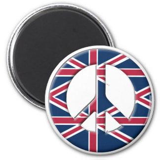 Peace in UK Magnet