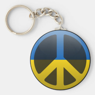 Peace in Ukraine Keychain