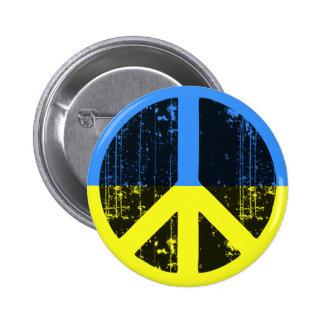 Peace In Ukraine Pinback Button